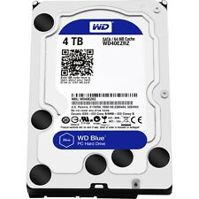 WD Blue 4TB  5400 RPM PC Hard Drive WD40EZRZ