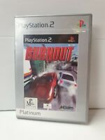 PS2 Burnout Platinum Inc Manual