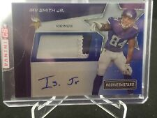 2019 IRV SMITH JR. Rookies And Stars RC Patch Auto /49 MINNESOTA VIKINGS Sealed