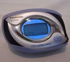 Panasonic Shockwave SVSW30V 256MB MP3 Player with FM Tuner Purple Tested