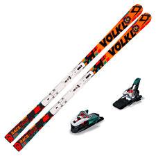 2017 Volkl Racetiger SW GS R UVO Skis & 9mm Plate w/ Marker Xcell 12 Bindings |