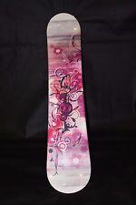 NEW! GIRLS Junior 540 Spice ECHO 125CM SNOWBOARD White Pink Black