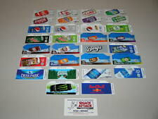 "(30) COKE OR SODA VENDING MACHINE 12oz ""CAN""  VEND LABEL VARIETY PACK - New"