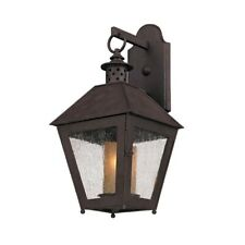 Troy Lighting Sagamore 1 Light Wall in Centennial Rust - B3292