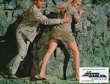 SEXY OLGA SCHOBEROVA THE VENGEANCE OF SHE  1968 VINTAGE LOBBY CARD #7