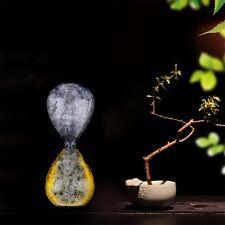 Small Transparent Bubble Hourglass Sand Clock Liquid Timer Decoration Gift QT