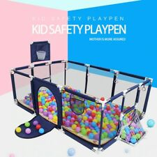 Baby Playpen Play Yard Safety Center Indoor Outdoor Activity Kids Panel Fence