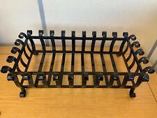 Freestanding Fire Log Cast Iron Fireplace Basket Grate