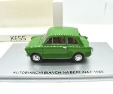 Modellino Auto Scala 1/43 Kess AUTOBIANCHI BIANCHINA modellismo collezione epoca