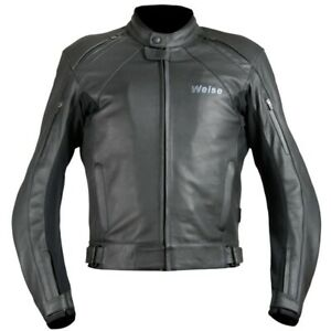 """NEW WEISE HYDRA LEATHER JACKET WITH WATERPROOF LINER SIZE UK 50/52"""" RRP £369.99"""