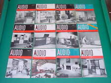 1959 Audio Magazines, Complete Year, 12 Issues