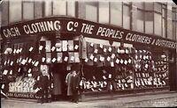 Bolton photo. Cash Clothing Co. Shop by D.Cooper, Markland Hill, Bolton.