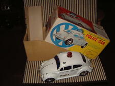 "ALPS VOLKSWAGEN ""POLICE CAR"" B/O DELUX VERSION, WORKING CONDITION WITH BOX!"