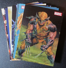 2013 MARVEL GREATEST BATTLES COMPLETE BATTLE SCARS CANVAS CHASE TRADING CARD SET