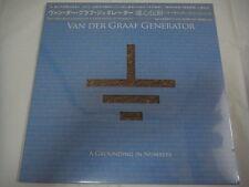 SEALED NEW VAN DER GRAAF GENERATOR-A Grounding In Numbers JAPAN 1st.Press w/OBI