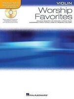 Worship Favorites, Violin by Hal Leonard Publishing Corporation (Mixed media...