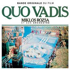 CD Quo Vadis - Miklos Rozsa - Bande Originale du Film