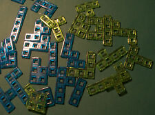 U-PICK SINGLE REPLACEMENT green or blue BLOKUS TO GO pieces READ  REPLACE LOST!