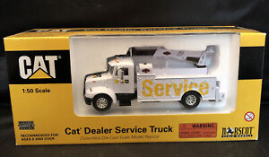 1/50 CAT Dealer White Service Truck by Norscot NIB!