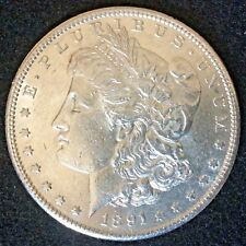 1891-S Morgan Dollar Choice BU