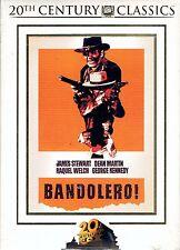 DVD - BANDOLERO - James Stewart - Dean Martin - Raquel Welch - George Kennedy