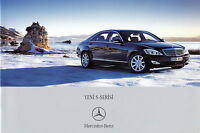 Mercedes S-Klasse Prospekt 2005 6/05 TR türkisch brochure prospectus catalog PKW