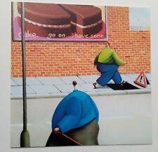 Sarah Jane Szikora Death by Chocolate professionally mounted rare art card