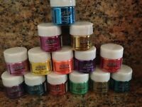 NEW Ranger Ink Stickles Dry Fine Craft Media Glitter Lot of 14 Assorted colors