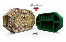 Boîte à Bijoux Coffret en Bois, Verrouillable, Boîte, Avec Subdivision K30206U