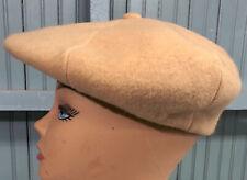 "VTG Tomlison Gatsby 11"" Wide Oversize 7.25 Flatcap Driving Golf Hat Cap Made USA"