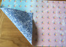 DOUBLE SIDED OMBRE SLEEPY UNICORN PRINTED FABRIC SHEET.HAIR BOWS, EXCLUSIVE