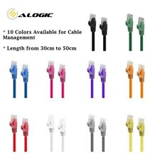 ALOGIC C6-01-Yellow 3.2 ft Cat6 Network Cable