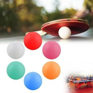 10X Pong Balls 40mm Colored Replacement Practice Pong Table Tennis