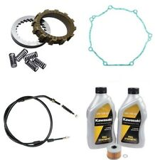 Kawasaki KX450F 2009-2011 Tusk Comp Clutch Springs Gasket & Cable & Oil Change
