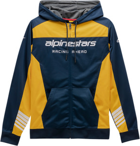 Alpinestars Sessions II Fleece 2XL Navy/Gold 12305310070592X