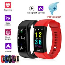 F07 Sport Smart Wristwatch Heart Rate Blood Pressure Band Waterproof For Android