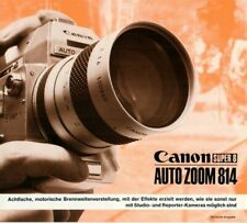 CANON Super 8 Auto Zoom 814 - Prospekt Broschüre Faltblatt - B16371