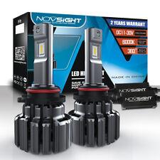 NOVSIGHT Pair 9006 HB4 90W 14400LM LED Headlight Conversion Kit 6000K Cool White