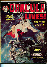 Dracula Lives #3 Yaffa Horror Australian Reprint Comic