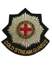 Coldstream Guards Military Blazer Badge Wire Bullion Badge