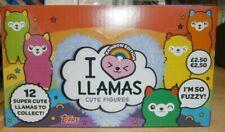 Topps I Love Heart Llamas Cute Figures Collection Box (12 blind bags) Rainbow Ed