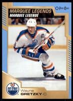 2020-21 UD O-Pee-Chee Blue Border Marquee Legends #550 Wayne Gretzky