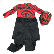 Rubie's Darth Maul Star Wars Costume Medium Boys Halloween Jumpsuit + Mask
