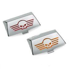 Harley Davidson OEM  skull front rear fender tip lens kit touring softail