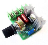 2PCS 220V 2000W Speed Controller SCR Voltage Regulator Dimmers Thermostat