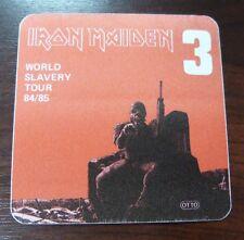 Iron Maiden-World Slavery Tour 84/85 - VIP-backstage pass