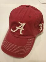NWOT~ '47 NCAA Alabama Crimson Tide Bama Distressed Red Fitted Franchise Hat XL