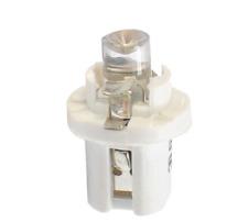 5 AMPOULE LED TABLEAU DE BORD B8-5D 12V BLANC Neuf