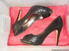 BRAND NEW **ZU** Women's Black High Heels (10.8 cm) Shoes, Size 7.5