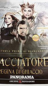Locandina edicola-poster 80X90:IL CACCIATORE E LA REGINA DI GHIACCIO.PANORAMA